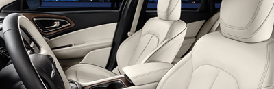 World-class premium interior with high-quality, soft-touch materials